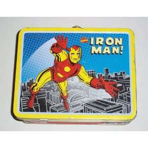 Vintage Iron Man Metal Lunch Box Everything Else