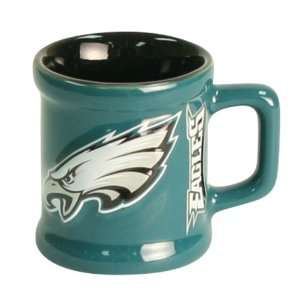 Philadelphia Eagles Ceramic Shot Glass with Handle Sports & Outdoors