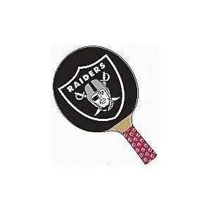 NFL Oakland Raiders Table Tennis Paddle Set