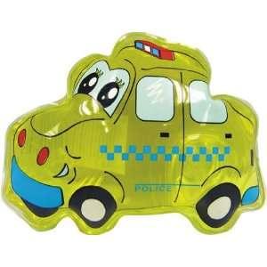 Yellow Police Car Liquid Hand or Bath & Shower Gel Soap, 1