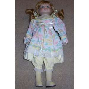 Tussini Collection 17 Inch Hand Crafted Porcelain Doll Home & Kitchen