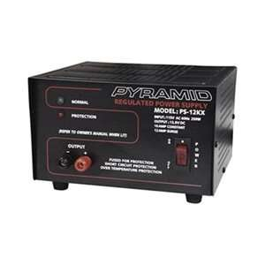 Pyramid 10 Amp Regulated Power Supply For Home Shop