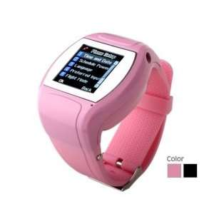 inch Touch Screen Quad Band Watch Phone Build in Camera FM Radio