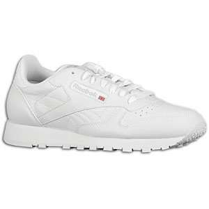 Reebok Mens REEBOK CLASSIC LEATHER RUNNING SHOES Shoes