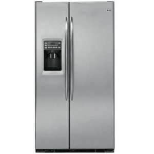 White Profile 23.4 cu. ft. Counter Depth Side by Side Refrigerator