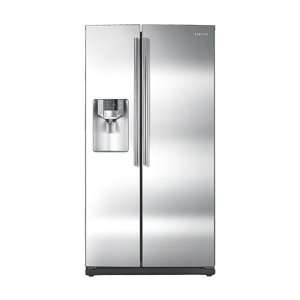 cu. ft. Side by Side Refrigerator  Stainless Steel