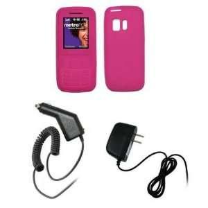 Samsung Messager R450   Premium Hot Pink Soft Silicone Gel