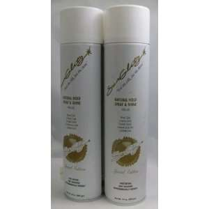 Farouk Natural Hold Spray & Shine Hair Spray 14 Oz ( 2 Pack) Beauty