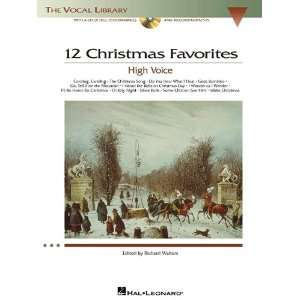 12 Christmas Favorites   The Vocal Library High Voice