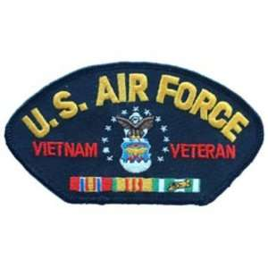 U.S. Air Force Vietnam Veteran Hat Patch 2 3/4 x 5 1/4