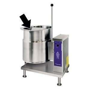 Optional Type 316 Stainless Steel Kettle Interior (20 Gallon)for