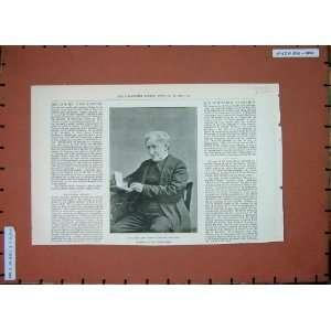 1890 Mr James Nasmyth Engineer Inventor Steam Hammer