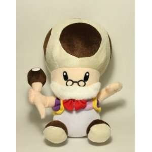 Super Mario Brothers 10 Grandpa Toad Plush Toys & Games