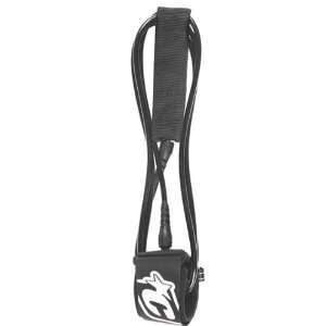 Of Leisure Backdoor Surfboard Leash   Black Sports & Outdoors