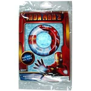 Iron Man Inflatable Swim Ring w/ Red Ironman Suit Design (20 Inch