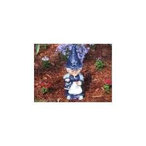 DALLAS COWBOYS 11.5 Team Logo FEMALE GARDEN GNOME Good