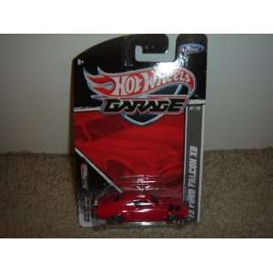 Wheels Garage Ford Series 73 Ford Falcon XB Red #07/20 Toys & Games