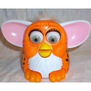Baby, 5 Orange with Black Spots, Pink Ears Doll Toy: Toys & Games