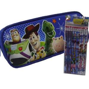 Toy Story 3 Pencil Case and Pack of Pencils Toys & Games