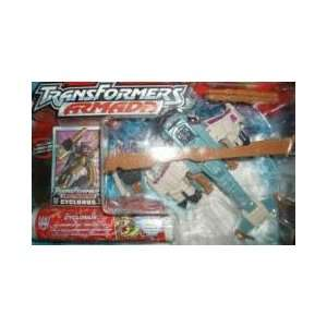 Transformers Armada Robot in Disguise : CYCLONUS with CRUMPLEZONE mini