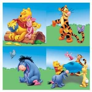 Sanitas Winnie The Pooh Wall Art Wallpaper FB075870 Baby