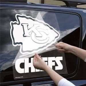 Wincraft Kansas City Chiefs 18x18 Die Cut Decal Sports