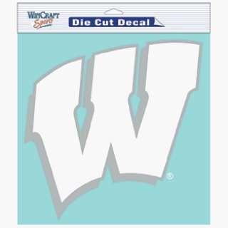 NCAA Wisconsin Badgers 8 X 8 Die Cut Decal