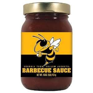 Tech Yellowjackets NCAA Barbecue Sauce   16oz