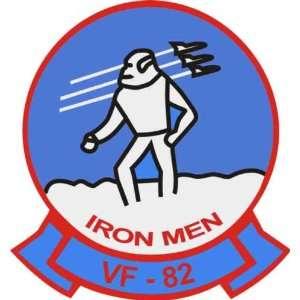 US Navy VF 82 Iron Men Fighting Fools Squadron Decal