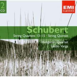 Schubert String Quartets 13   15 & String Quintet; Hungarian Quartet