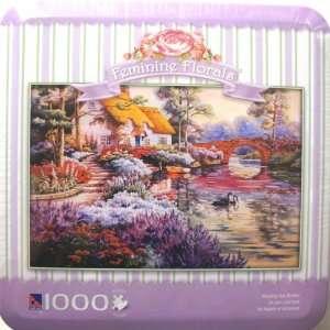 Feminine Florals Morning Has Broken 1000 Piece PUZZLE Toys & Games