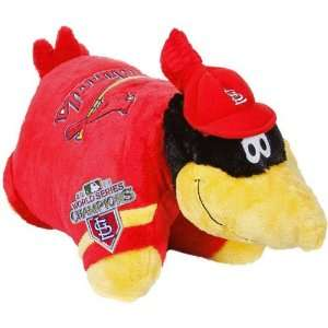 MLB St. Louis Cardinals 2011 World Series Champions Mascot Pillow Pet
