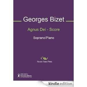 Agnus Dei   Score Sheet Music (Score): Georges Bizet: