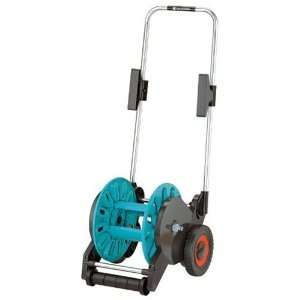 99 Foot Wheel Garden Hose Reel With Automatic Hose Tracking/Retracting