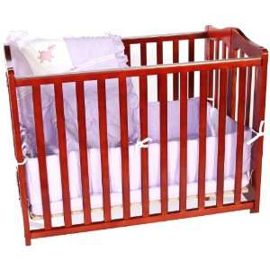 Baby Doll Bedding Gingham Port a Crib Bedding Set