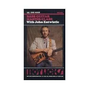 Bass Guitar Master Class With John Entwistle Jphn