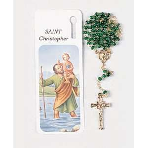 Bookmark Rosary   Saint Christopher   Bookmark and Full 14