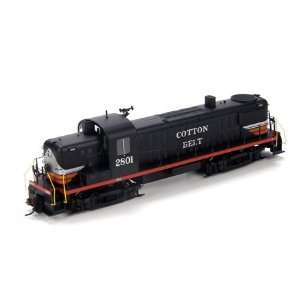 HO RTR RS3, Cotton Belt/Black Widow #2801 ATH94098  Toys & Games