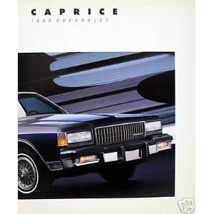1988 Chevrolet Caprice sedan/wagon vehicle brochure Everything Else