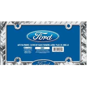 Ford Chrome Tag Frame: Automotive