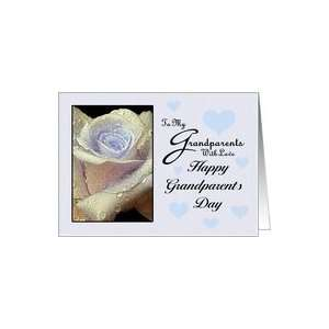 To my Grandparents With Love   Happy Grandparents Day Card