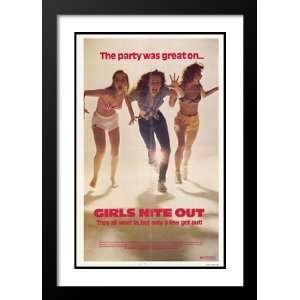 Girls Nite Out 20x26 Framed and Double Matted Movie Poster