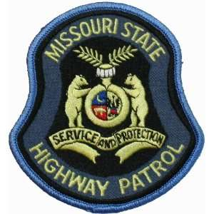 Missouri State Highway Patrol Police Patch PD12