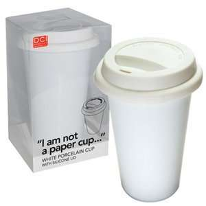 Am Not a Paper Cup Reusable Thermal Coffee Mug  Kitchen
