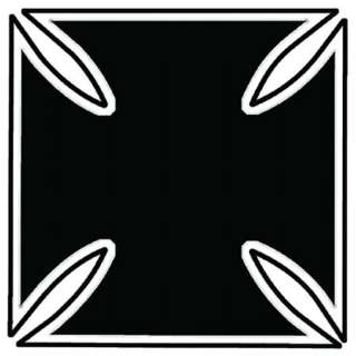Iron Cross Tattoo Temporary Tattoo This tattoo image is of a black