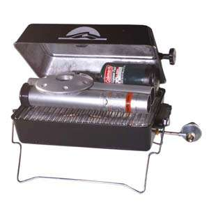 Springfield Deluxe Barbecue Gas Grill with Post