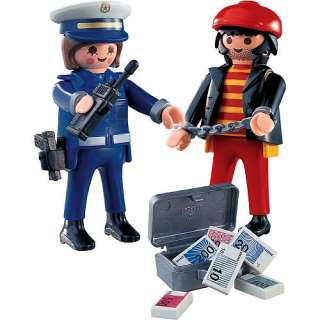 Playmobil Police Playset: Police with Thief   Playmobil   Fire