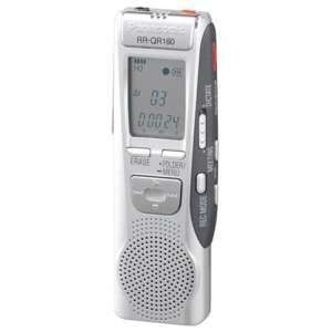 Panasonic RRQR160 IC Digital Voice Recorder  GREAT BUY!