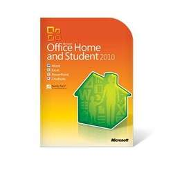 Microsoft Office Home and Student 2010 English DVD (3 PC) 79G 01900