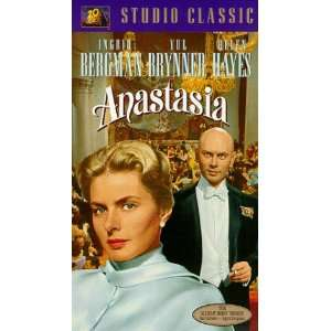 Anastasia [VHS] Ingrid Bergman, Yul Brynner, Helen Hayes